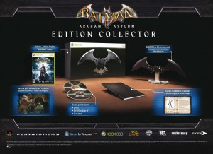 Batman Arkham Asylum Collector FR