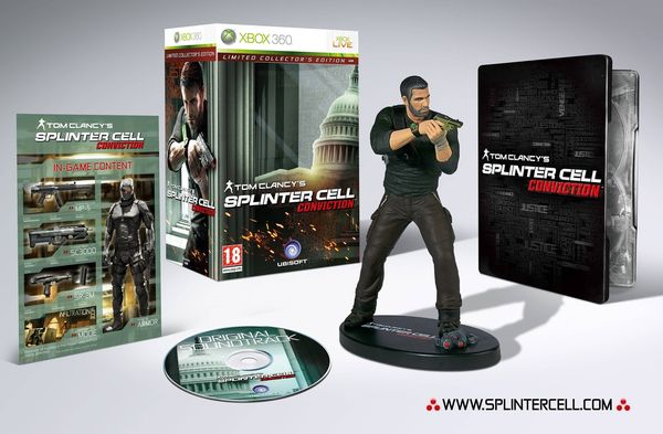 Splinter Cell Conviction Édition Collector