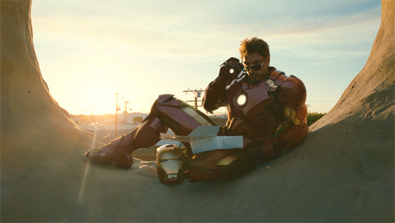 Iron Man aime les donuts