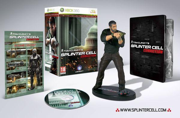 Splinter Cell Conviction Édition Collector